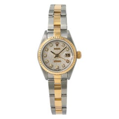 Rolex Datejust 79173, White Dial, Certified and Warranty