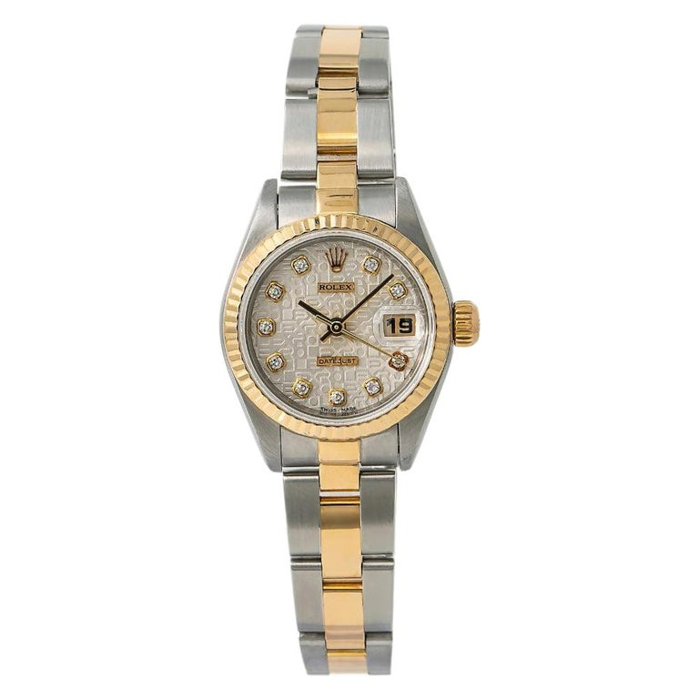 Rolex Datejust 79173, White Dial, Certified and Warranty For Sale