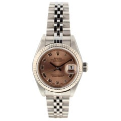 Rolex Datejust 79174, Pink Dial, Certified and Warranty