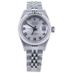 Rolex Datejust 79174 Silver Dial Certified Pre-Owned