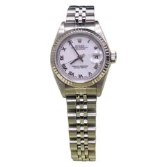 Rolex Datejust 79174, White Dial, Certified and Warranty