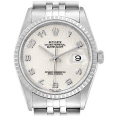 Rolex Datejust Anniversary Dial Jubilee Bracelet Steel Men's Watch 16220