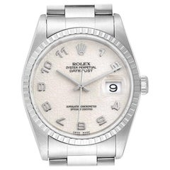 Rolex Datejust Anniversary Dial Oyster Bracelet Steel Men's Watch 16220
