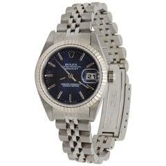 Rolex Datejust Blue Index 79174
