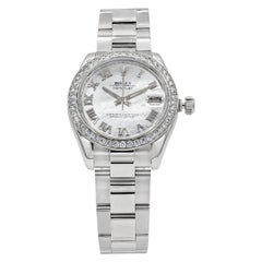 Rolex Datejust Diamond Mother of Pearl Ladies Watch Ref. 178384