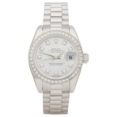 Rolex DateJust Diamond Platinum 179136