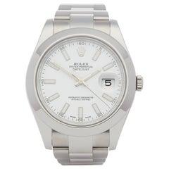 Rolex Datejust II 116300 Men Stainless Steel Watch