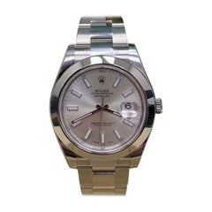 Rolex Datejust II 116300 Silver Dial Stainless Steel Box Papers