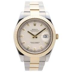 Rolex Datejust II 116333, Beige Dial, Certified and Warranty