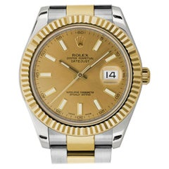 Rolex Datejust II 116333, Case, Certified and Warranty