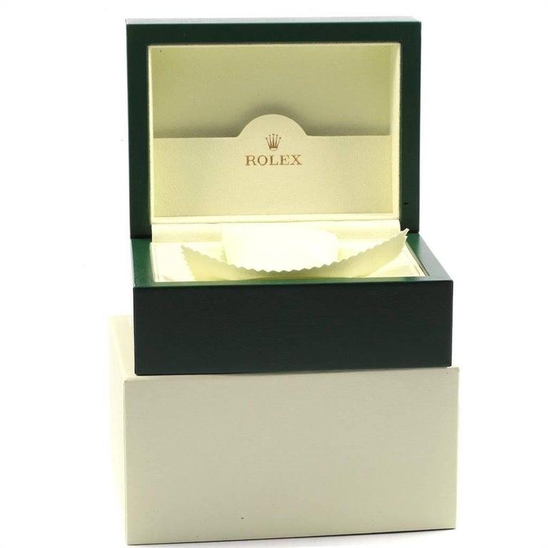 Rolex Datejust II Grey Dial Oyster Bracelet Steel Men's Watch 116300 For Sale 8