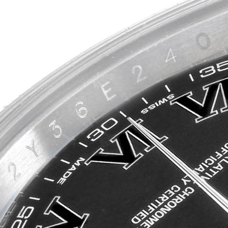 Rolex Datejust II Grey Dial Oyster Bracelet Steel Men's Watch 116300 For Sale 4