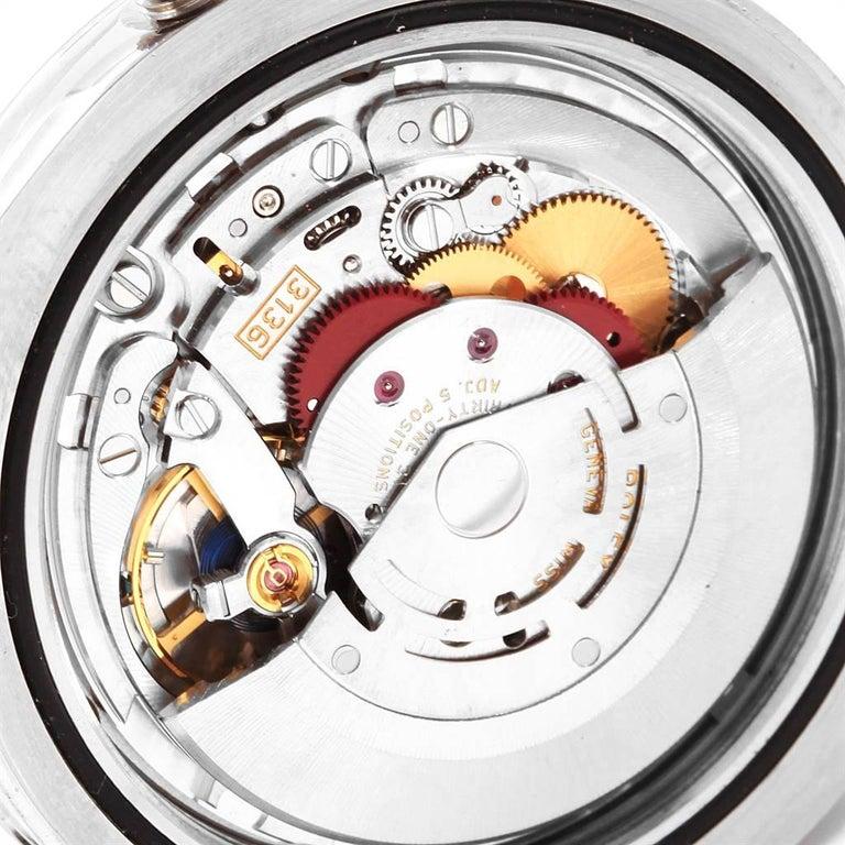 Rolex Datejust II Grey Dial Oyster Bracelet Steel Men's Watch 116300 For Sale 5