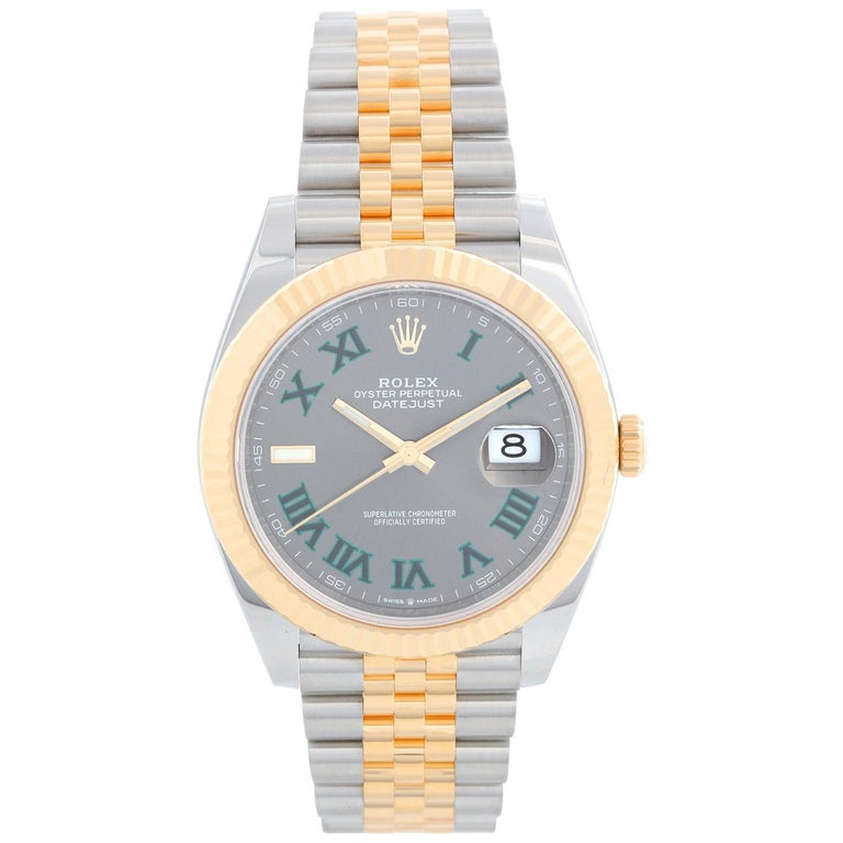 Rolex Datejust II Men's 2-Tone Steel and Gold Watch 126333 For Sale