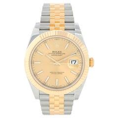 Rolex Datejust II Men's 2-Tone Steel and Gold Watch 126333