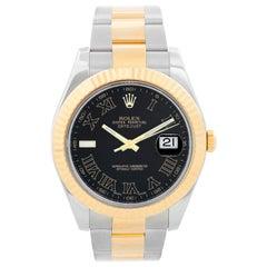 Rolex Datejust II Men's 2-Tone Steel Gold Watch 116333