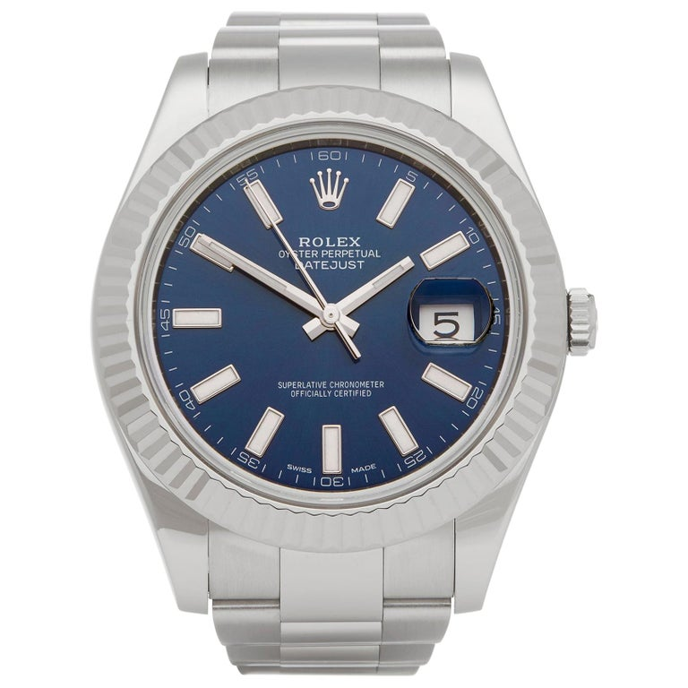 Rolex Datejust II Stainless Steel 116334 For Sale