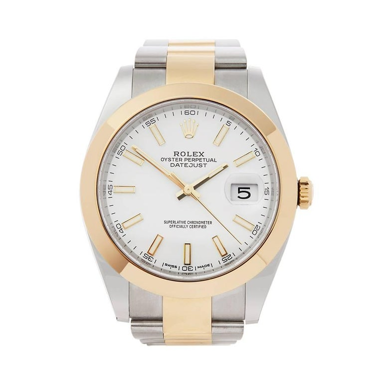 Rolex Datejust II Stainless Steel and 18 Karat Yellow Gold Men's 126303