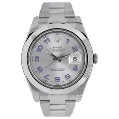 Rolex Datejust II Stainless Steel Smooth Bezel Watch 116300GAO