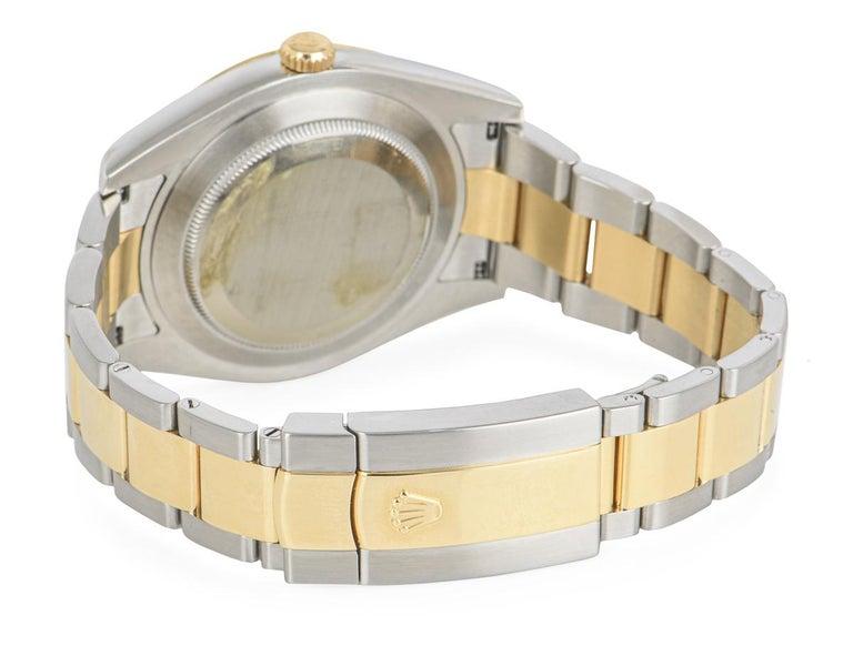 Rolex Datejust II Steel and Gold Wimbledon Dial 116333 Watch 6