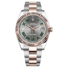 Rolex Datejust II Wimbledon Dial 126331