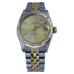 Rolex Datejust Lady Ref 6827 Two-Tone Gold and Steel with Champagne Dial