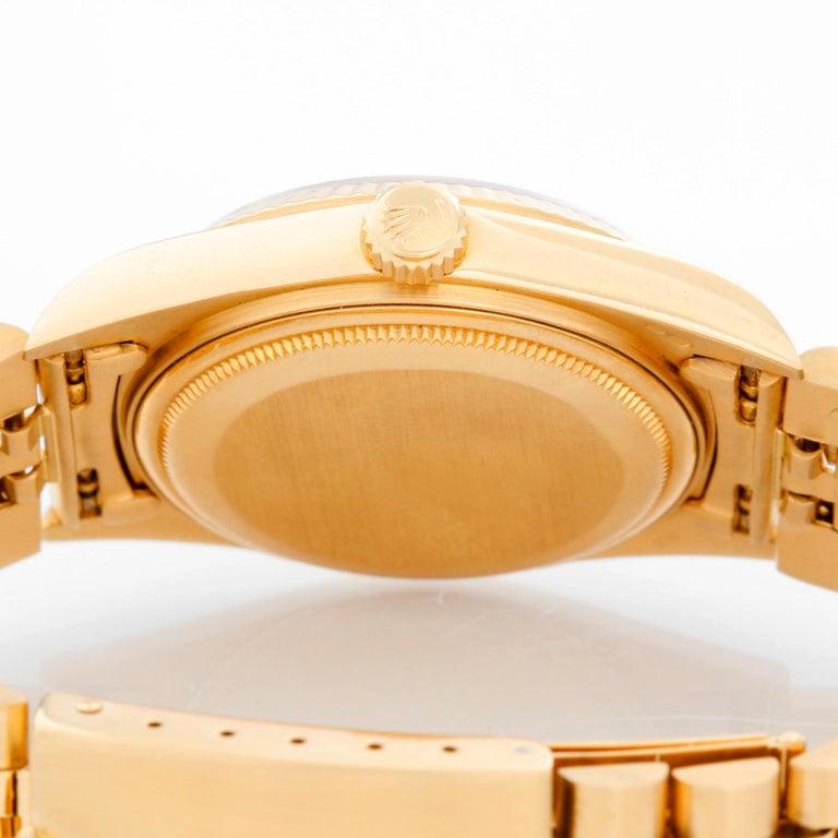 Rolex Datejust Men's 18 Karat Watch 16018 For Sale 1