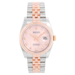Rolex Datejust Men's 2-Tone Steel/Rose Gold Watch 116231