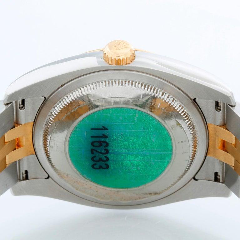 Rolex Datejust Men's 2-Tone Watch 116233 For Sale 1
