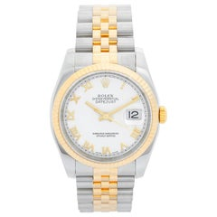 Rolex Datejust Men's 2-Tone Watch 116233