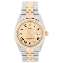Rolex Datejust Men's 2-Tone Watch 1601