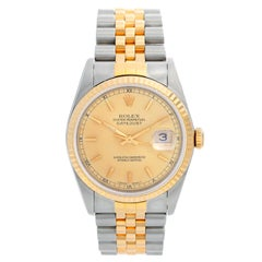 Rolex Datejust Men's 2-Tone Watch 16233
