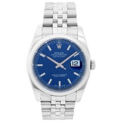 Rolex Datejust Men's Stainless Steel Automatic Winding Watch 116200