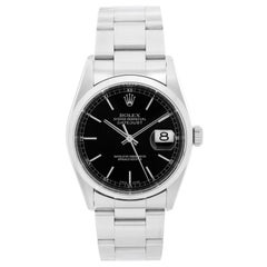 Rolex Datejust Men's Stainless Steel Automatic Winding Watch 16200