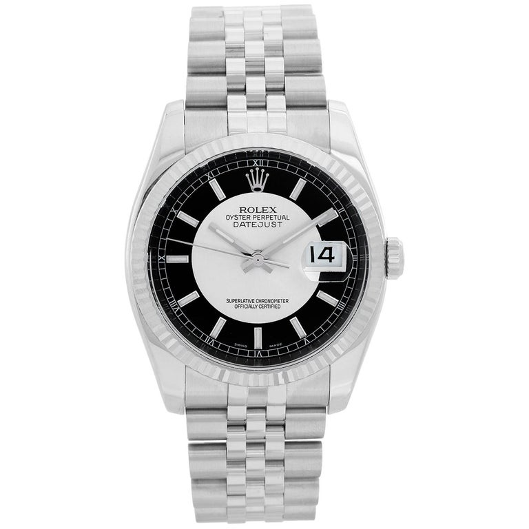 Rolex Datejust Men's Stainless Steel Watch 116234 For Sale