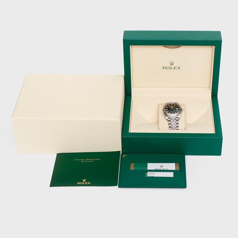 Rolex Datejust Men's Stainless Steel Watch 126234 For Sale 2