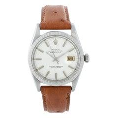 Rolex Datejust Men's Stainless Steel Watch 1601 on Strap