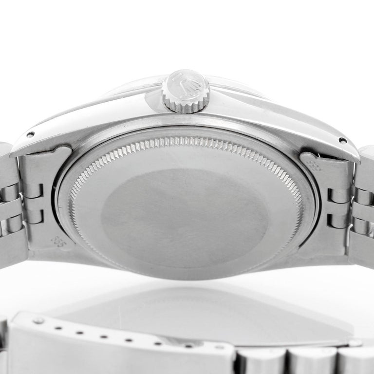 Rolex Datejust Men's Stainless Steel Watch 16014 For Sale 1