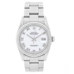 Rolex Stainless Steel Datejust Automatic Wristwatch, 16220