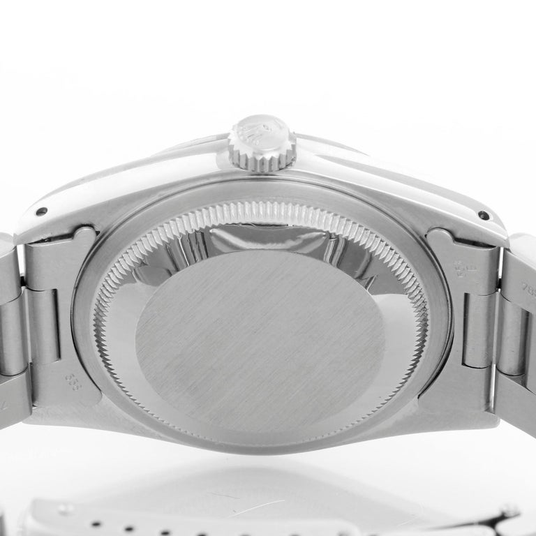 Rolex Datejust Men's Stainless Steel Watch 16234 For Sale 1