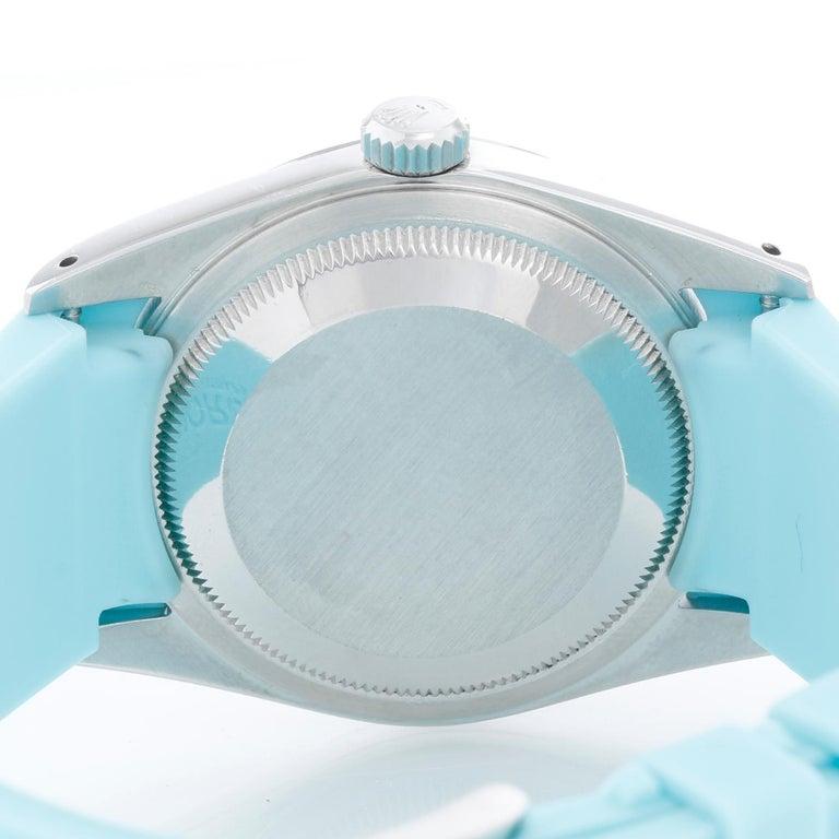 Women's or Men's Rolex Datejust Men's Stainless Steel Watch 16234 For Sale