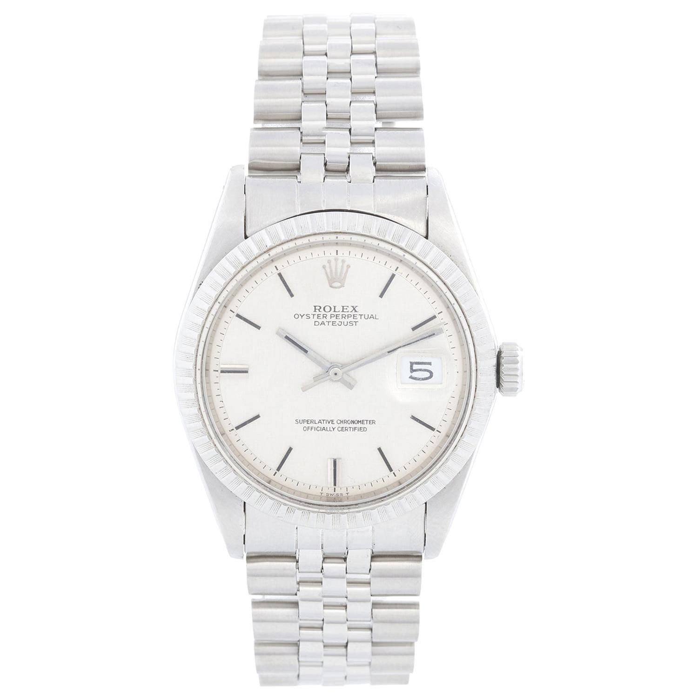 Rolex Datejust Men's Steel Automatic Winding Watch 1603
