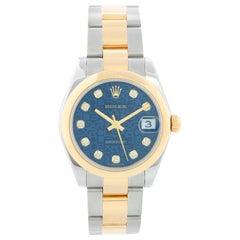 Rolex Datejust Midsize 2-Tone Watch 178243