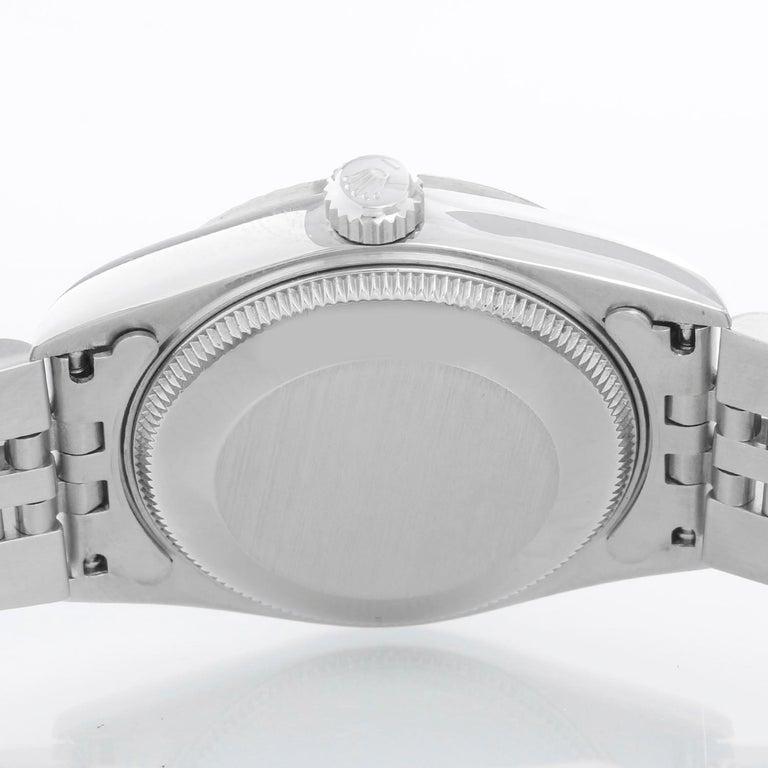Rolex Datejust Midsize Men's or Ladies Steel Watch 68274 For Sale 1
