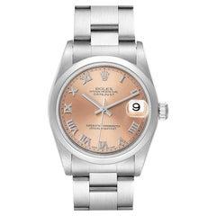 Rolex Datejust Midsize Salmon Dial Ladies Watch 78240
