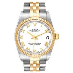 Rolex Datejust Midsize Steel Yellow Gold Ladies Watch 78273