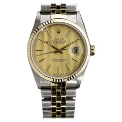 Rolex Datejust Mixed Metals Watch