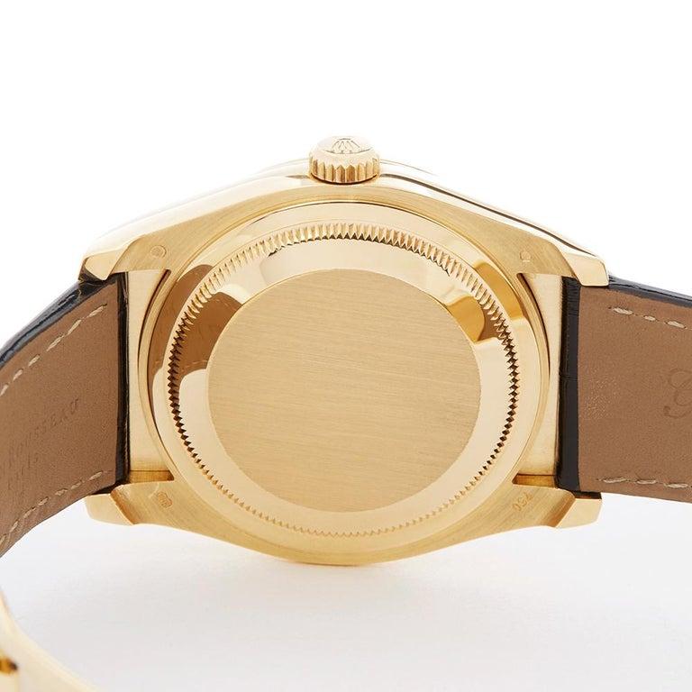 Rolex Datejust Mother-of-Pearl Diamonds Unisex 116188 Watch 3