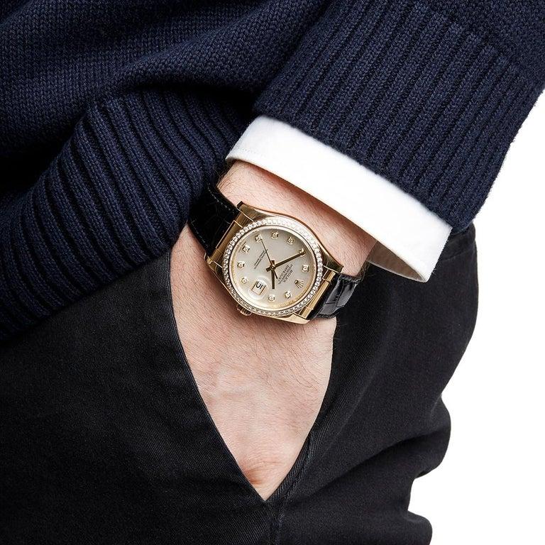 Rolex Datejust Mother-of-Pearl Diamonds Unisex 116188 Watch 4