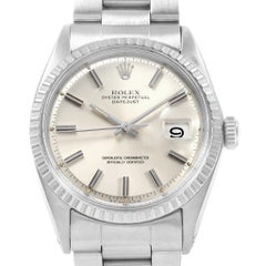 Rolex Datejust Oyster Bracelet Vintage Men's Watch 1603 Year 1968
